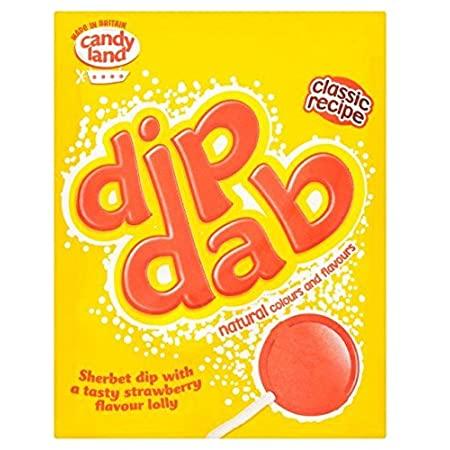 Barratt Dip Dab Strawberry Sherbert Dip at Plumule Expat shop Rotterdam.